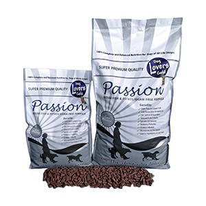 Dog lovers passion cold pressed Ocean Fish & Potato 13 kg