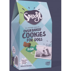 Smoofl Fish – oven baked cookies for dogs
