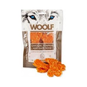 Woolf Chicken, pumpkin and Oats bone 100gram