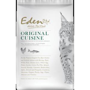 Eden Cat  Original Cuisine kip, zalm, haring & eend 400 gram