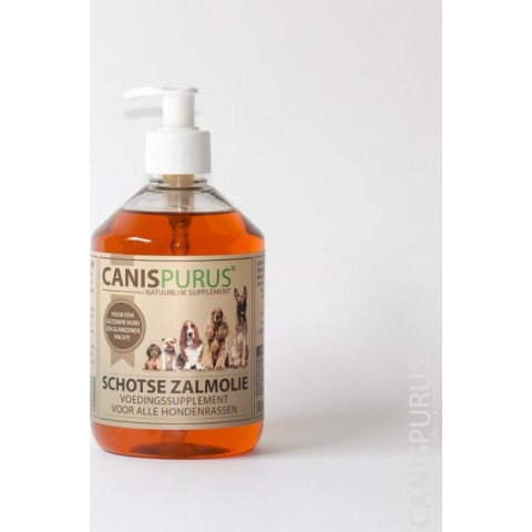 Canis Purus Schotse Zalmolie 500 ml