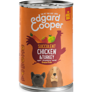 Edgard&Cooper Kip & Kalkoen 400gram