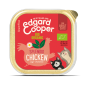 Edgard&Cooper bio kip, salie en kamille-fleur's pet shop-natuurvoeding voor hond en kat-vlootjes-85gr