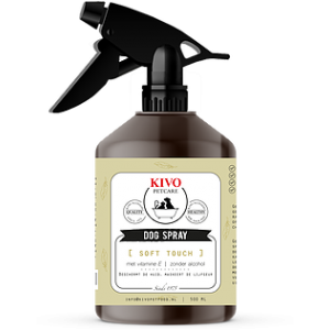 kivo dog spray soft toch 500ml