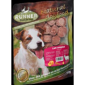 runner lam hamburger 750gr-fleur's pet shop-natuurvoeding voor hond en kat-versvlees online bestellen