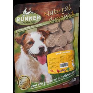 runner eend hamburger 750gr-fleur's pet shop-natuurvoeding voor hond en kat-versvlees online bestellen