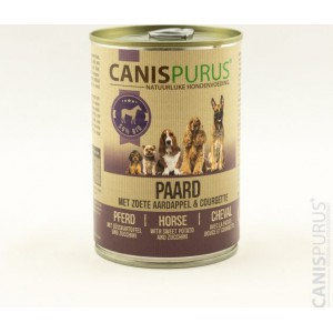 canis purus paard-fleur's pet shop-natuurvoeding voor hond en kat