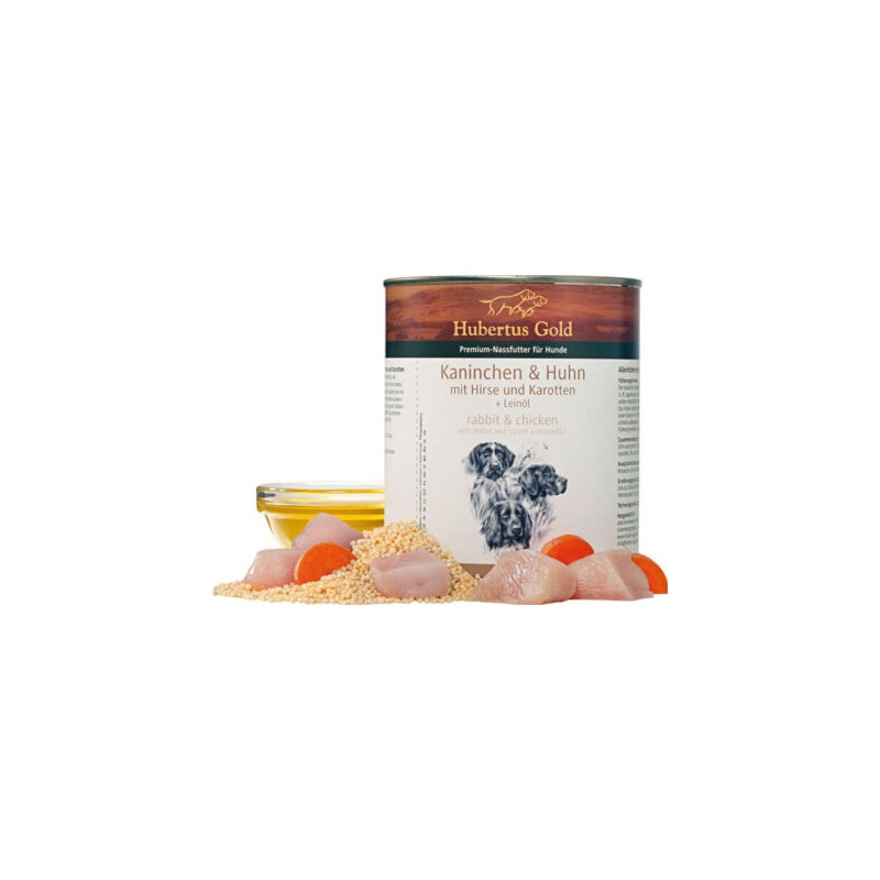 hubertus-gold-konijn-800gr- fleur's pet shop-blikvoer