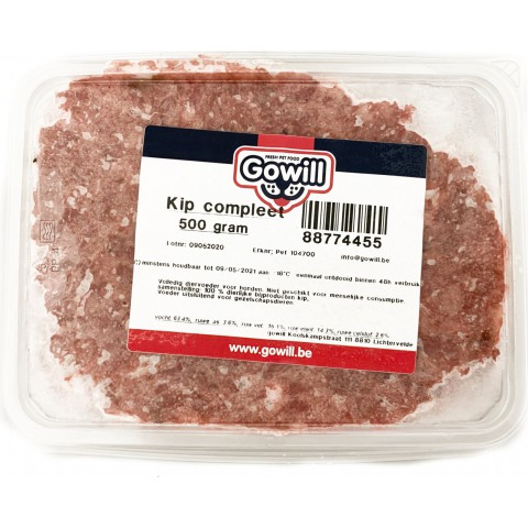 Gowill Plus Kip compleet 1 kg
