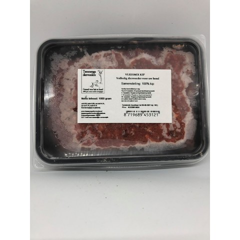 Tammenga vleesmix Konijn/Geit 20x500g