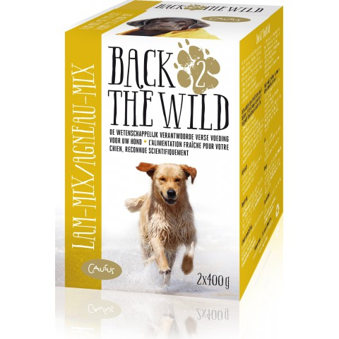 BACK 2 THE WILD  Lam Mix 2x400 gram