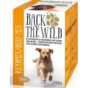 BACK 2 THE WILD  Rund Mix 2x400 gram